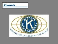 to see the Convention pictorial presentation in PDF (2.0Mb) - Kiwanis