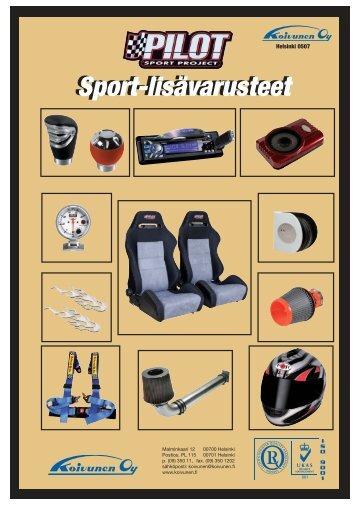 Sport-lisävarusteet
