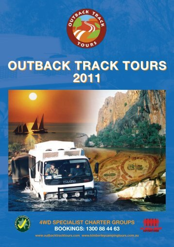 OUTBACK TRACK TOURS 2011