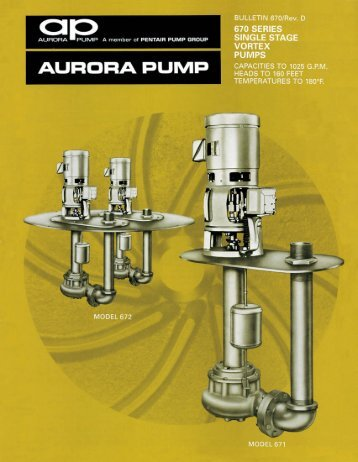 670 SERIES | SINGLE STAGE vomex PUMPS - BBC Pump and ...
