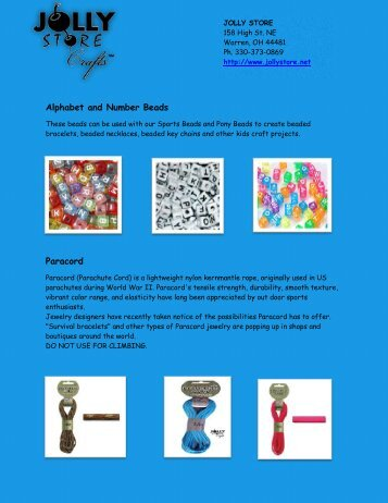 Bead Crafting Supplies Online