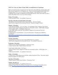 GJEP Media in Copenhagen.pdf - Global Justice Ecology Project