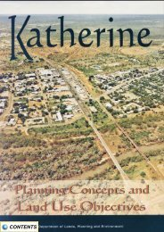 Katherine Planning Concepts and Land Use Objectives (2001)