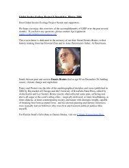 GJEP E-newsletter Feb 2010.pdf - Global Justice Ecology Project