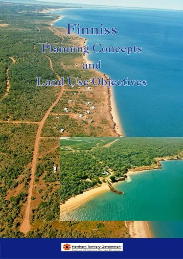 Finniss Planning Concepts And Land Use Objectives 2002