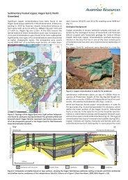 Sedimentary hosted copper, Hagen Fjord, North Greenland