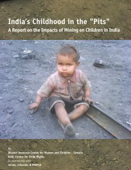 Assessing the impact of mining on children - Indiagovernance.gov.in