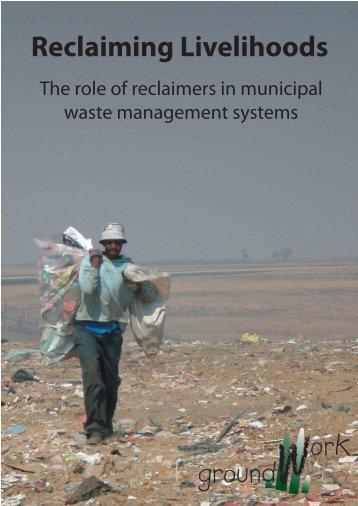 Reclaiming Livelihoods.indd - groundWork