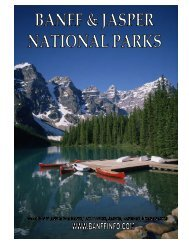 7 - Banff vacations – tours