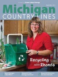 Harvesting Efficiency - Michigan Country Lines Magazine