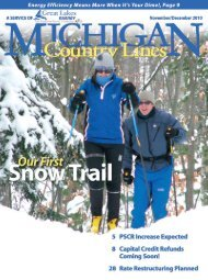 Great Lakes Energy Cooperative - Michigan Country Lines Magazine
