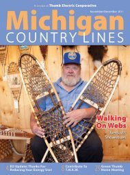 Thumb - Michigan Country Lines Magazine