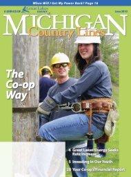 1 - Michigan Country Lines Magazine