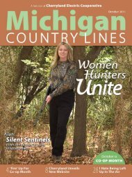 Cherryland Electric Cooperative - Michigan Country Lines Magazine