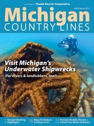 Thumb Electric Co-op's 76th Annual Meeting - Michigan Country ...
