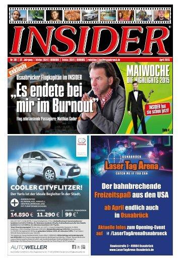 INSIDER Osnabrück // April 2015