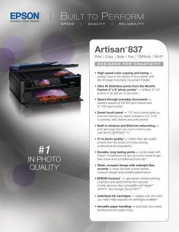 Artisan® 837