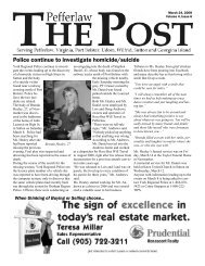 March 24, 2008 - The Pefferlaw Post