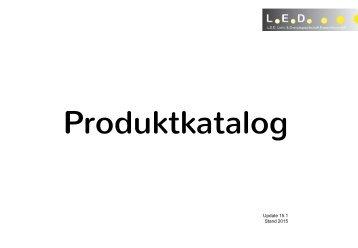 Produktkatalog LED GmbH