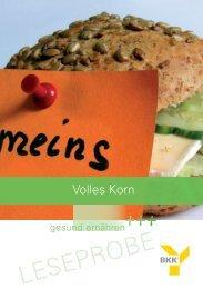 Volles Korn - BKK Vital