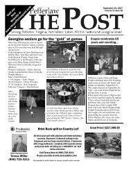 September 24, 2007 - The Pefferlaw Post