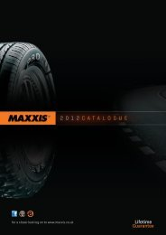 2012 CATALOGUE - Maxxis Tyres