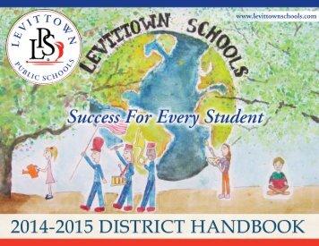 District Handbook - Levittown Public Schools