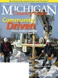 2457 - Michigan Country Lines Magazine