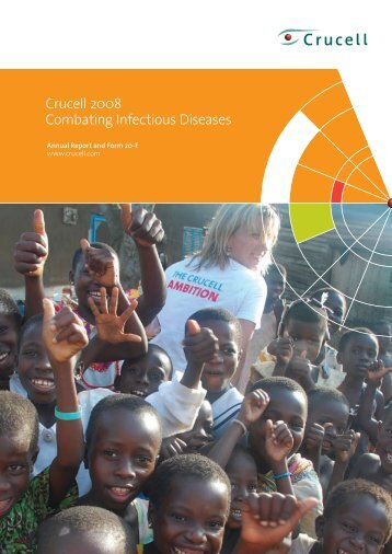 Crucell 2008 Combating Infectious Diseases