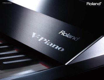 V-Piano Brochure - Roland Corporation US