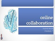 nuova ecdl: online collaboration