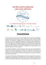 Pressemitteilung [pdf-Datei, 350 KB] - ELSA Elbe