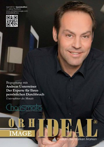 Orhideal IMAGE Magazin - April 2015