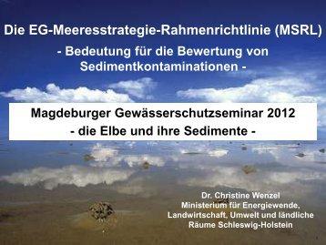 Vortrag, pdf, 0,8 MB - ELSA Elbe