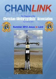 National Chairman and the 2012 - Christian Motorcyclists ...