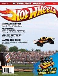 """Hot Wheels Globalâ""""¢ Newsletter - Blue Horizon Licensing"""