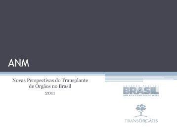 Novas Perspectivas do Transplante de Órgãos no Brasil