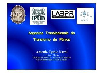 Aspectos translacionais do transtorno do pânico_Prof. Antonio ...