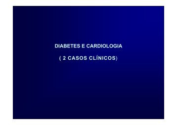 Relação entre diabetes e cardiopatia - Dr. Dany David Kruczan
