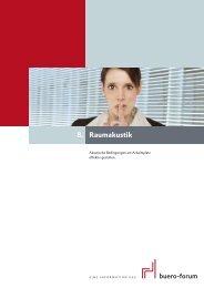 Raumakustik 8. - buero-forum.de