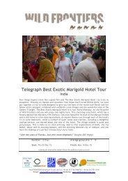 Telegraph Best Exotic Marigold Hotel Tour 03Dec15 (C)