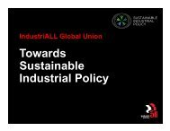Sustainable industrial policy introduction - Industriall