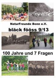 September 2013 - NaturFreunde Bonn