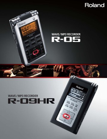 R-Series Brochure - Roland Corporation US