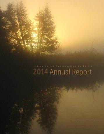 RVCA Annual Report 2014