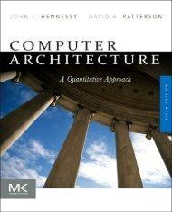 Computer Architecture A Quantitative Approach (5th edition)