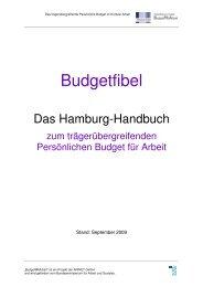 Hamburg Handbuch - Persönliches Budget - Bundesministerium für ...