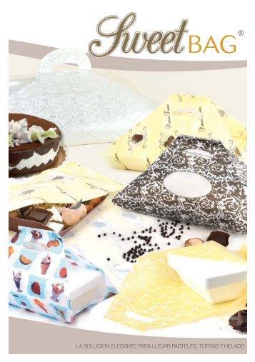 la solución elegante para llevar pasteles, tortas y helado - New Plast