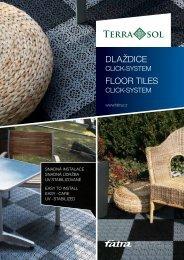 dlaždice floor tiles - Fatra