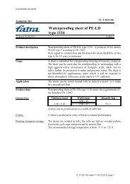 TL LDPE dr. 1116 - Fatra